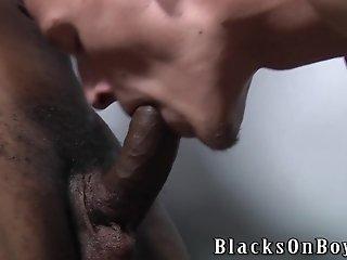 Troy Segal Enjoys Interracial Gay Threesome Sex In The Locker Room